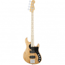 (B-Ware) Fender American Elite Dimension Bass IV HH MN NAT Natural