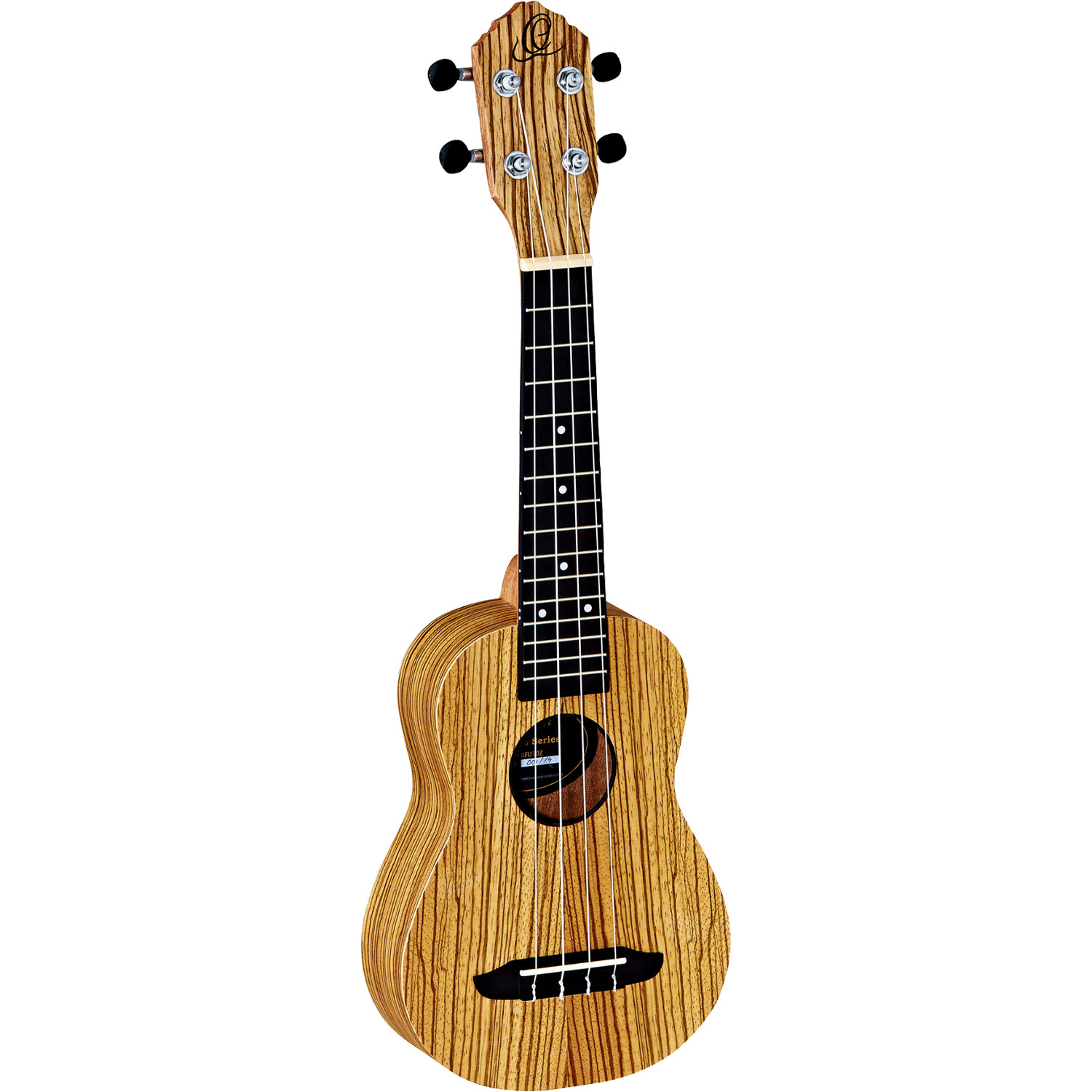 Ortega Friends Series RFU10Z soprano ukulele, natural