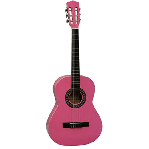 Gomez 034 1 2 size classical guitar, pink