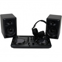 Pioneer DJ-STARTER-PACK with WeGO4, DM-40, HDJ-700