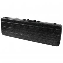 Fazley BC-500BL case for bass guitar, Black Linellae