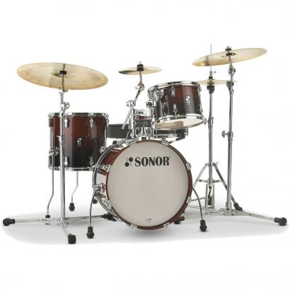 Sonor AQ2 TSB Bop Transparant Stain Black 4-piece shell set