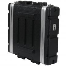 Innox ABS-17-2U 19-inch ABS double-door flight case, 2U