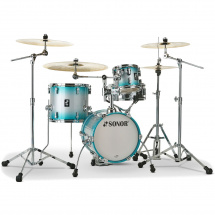 Sonor AQ2 WHP Martini White Pearl 4-piece shell set