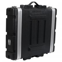 Innox ABS-19-2U 19-inch ABS double-door flight case 2U, extra deep