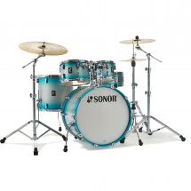 Sonor AQ2 TSB Stage Transparant Stain Black 5-piece shell set