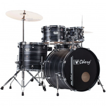 Odery IR.101 inRock Black Mist 5-piece shell set incl. hardware