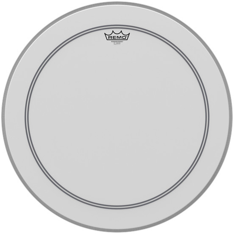 Remo P3 1124 C2 Powerstroke 3 coated 24 inch bass drumhead