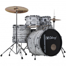 Odery IR.100 inRock White Mist 5-piece shell set incl. hardware
