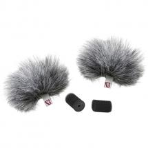 Rycote Grey Lavalier Windjammer (set of 2)