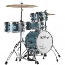 Odery Cafe Kit Blue Sparkle 4-piece shell set incl. hardware
