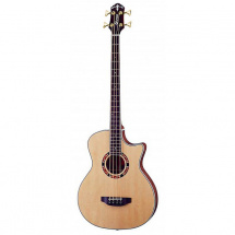 Crafter GAB21S/N E-Akustikbass, natur
