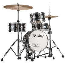 Odery Cafe Kit Black Ash 4-piece shell set incl. hardware