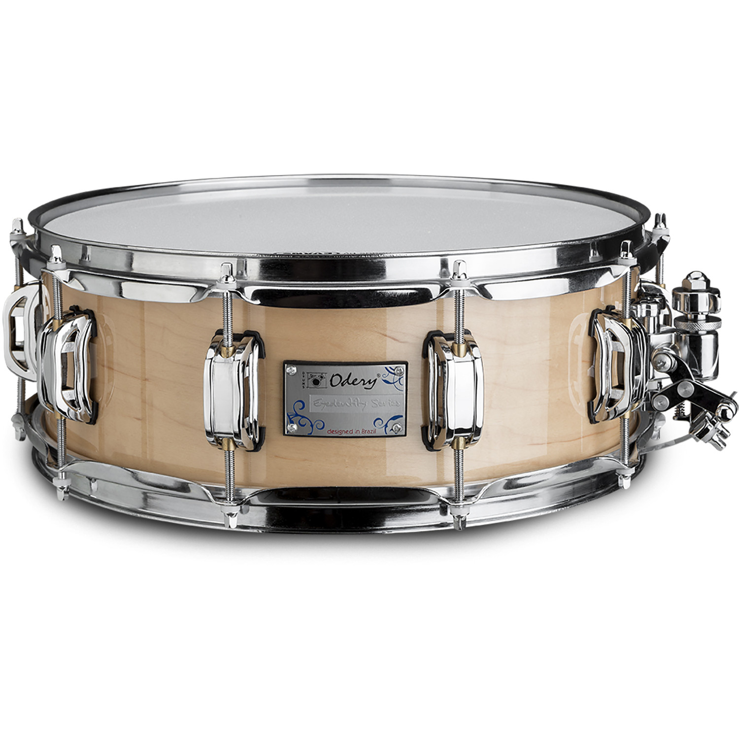 Odery Eyedentity 10 x 4.5 inch maple snare drum, natural