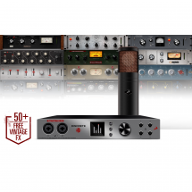 Antelope Audio Discrete 4 + Edge + Premium FX Collection modelling microphone bundle