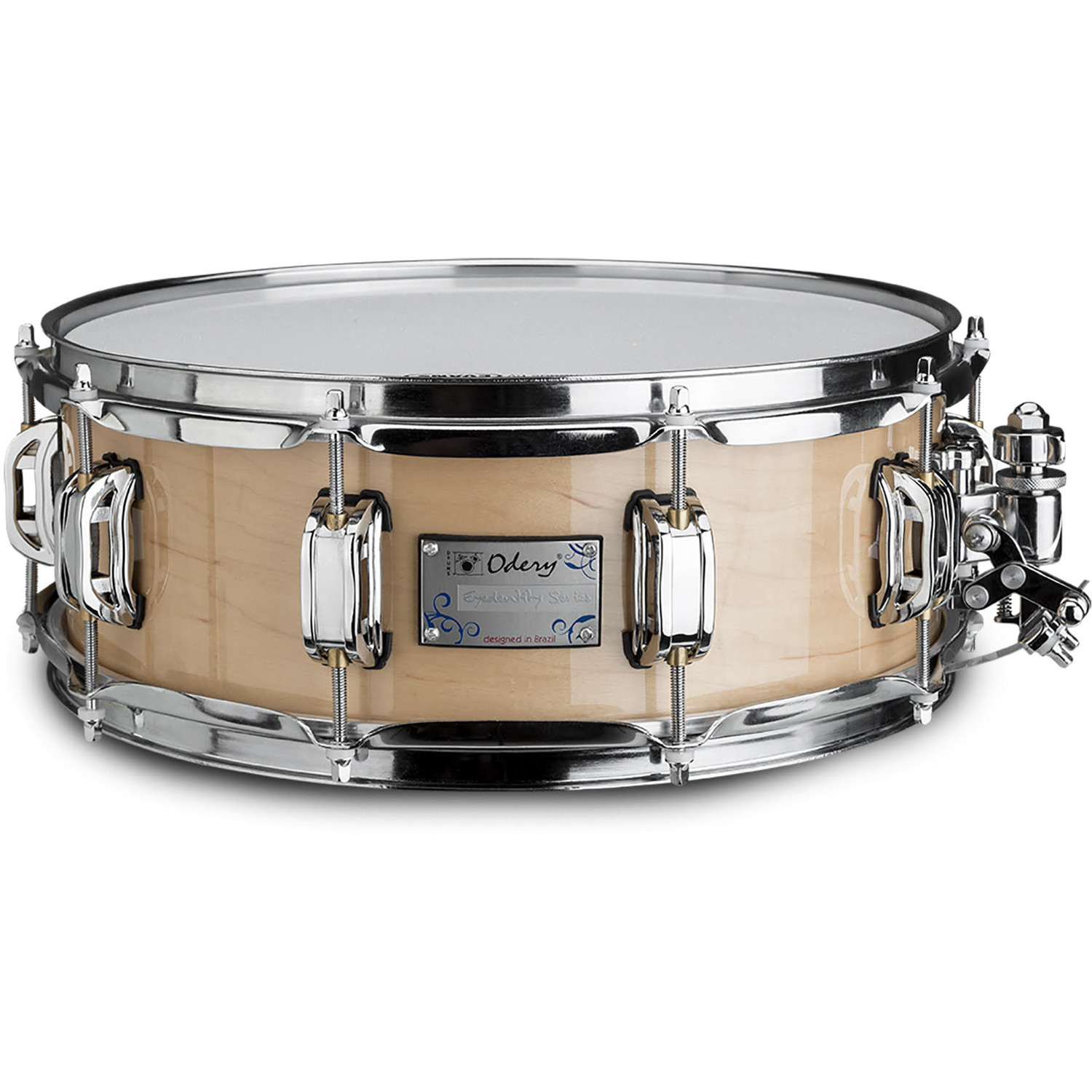 Odery Eyedentity 14 x 4.5 inch maple snare drum, natural