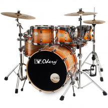 Odery Fusion 201 Orange Burst 6-piece shell set incl. hardware