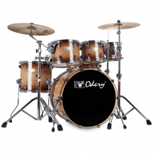 Odery Fusion 201 Magma Vintage 6-piece shell set incl. hardware