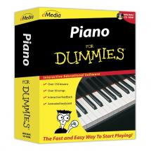 e-Media Music Piano for Dummies CD-ROM
