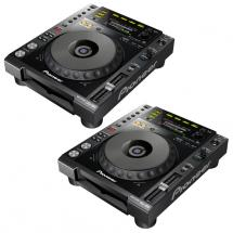 Pioneer CDJ-850-K Multimedia-Player 2er-Set, schwarz