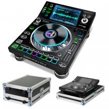 Denon DJ SC5000 Prime digital tabletop + flight case