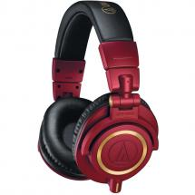 Audio Technica ATH-M50x RED studio headphones
