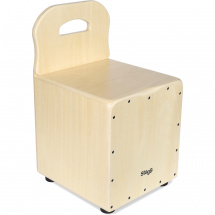 Stagg CAJ-KID N children's cajon with back support