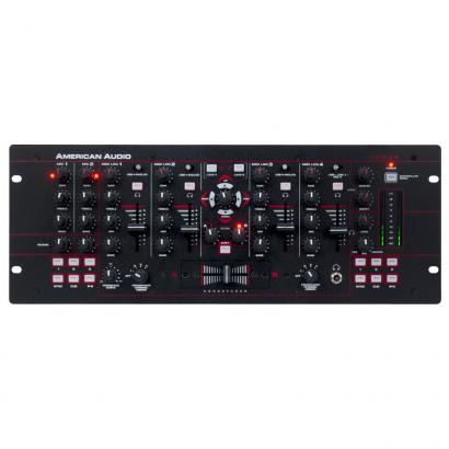 American Audio 19MXR 4-Kanal digitaler DJ-Mixer