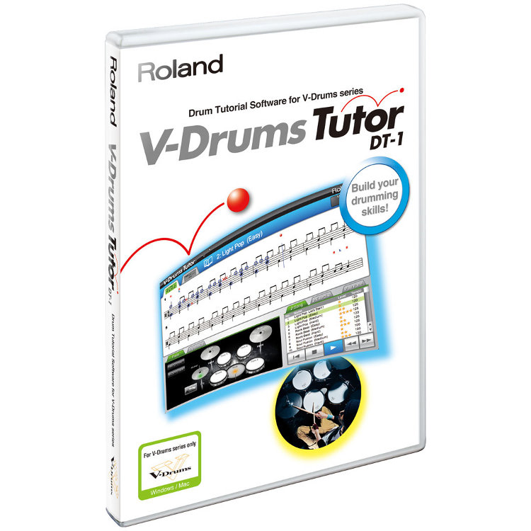 Bild von Roland DT-1 V-Drums Tutor Schulungs-Software