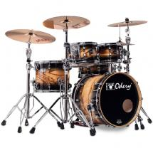 Odery EYE135 Eyedentity Birch Tiger Black 5-piece shell set