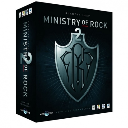 Eastwest Quantum Leap Ministry Of Rock 2 plug-in (educatief)