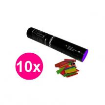 Magic FX Confetti Cannon Bundle 28 cm, bunt (10 Stck.)