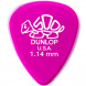 Dunlop Delrin 500 1.14mm Delrin 500 Plektrum, Magenta 1,14 mm