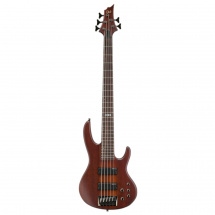 (B-Ware) ESP LTD D-5 5-saitiger E-Bass, Natural Satin