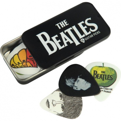 Planet Waves 1CAB4-15BT1 The Beatles Logo Plektrenbox