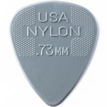 Dunlop Nylon Standard 0.73mm Plektrum 0,73mm, grau
