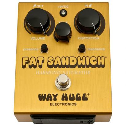 Way Huge WHE301 Fat Sandwich Distortion Pedal für Gitarre