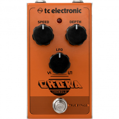 TC Electronic Choka Tremolo modulation effects pedal