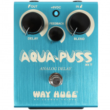 Way Huge WHE701 Aqua Puss analoges Delay Pedal