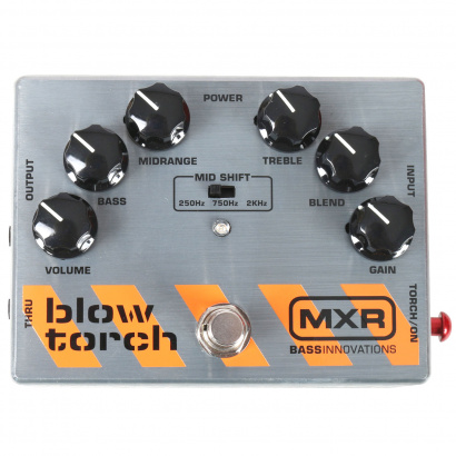 MXR M181 Bass Blowtorch Distortion Bass Effectpedal
