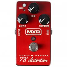 MXR M78 Custom Badass 78 Distortion Effektpedal