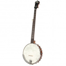 (B-Ware) Recording King RK-OT25-BR Old-Time Open Back Banjo