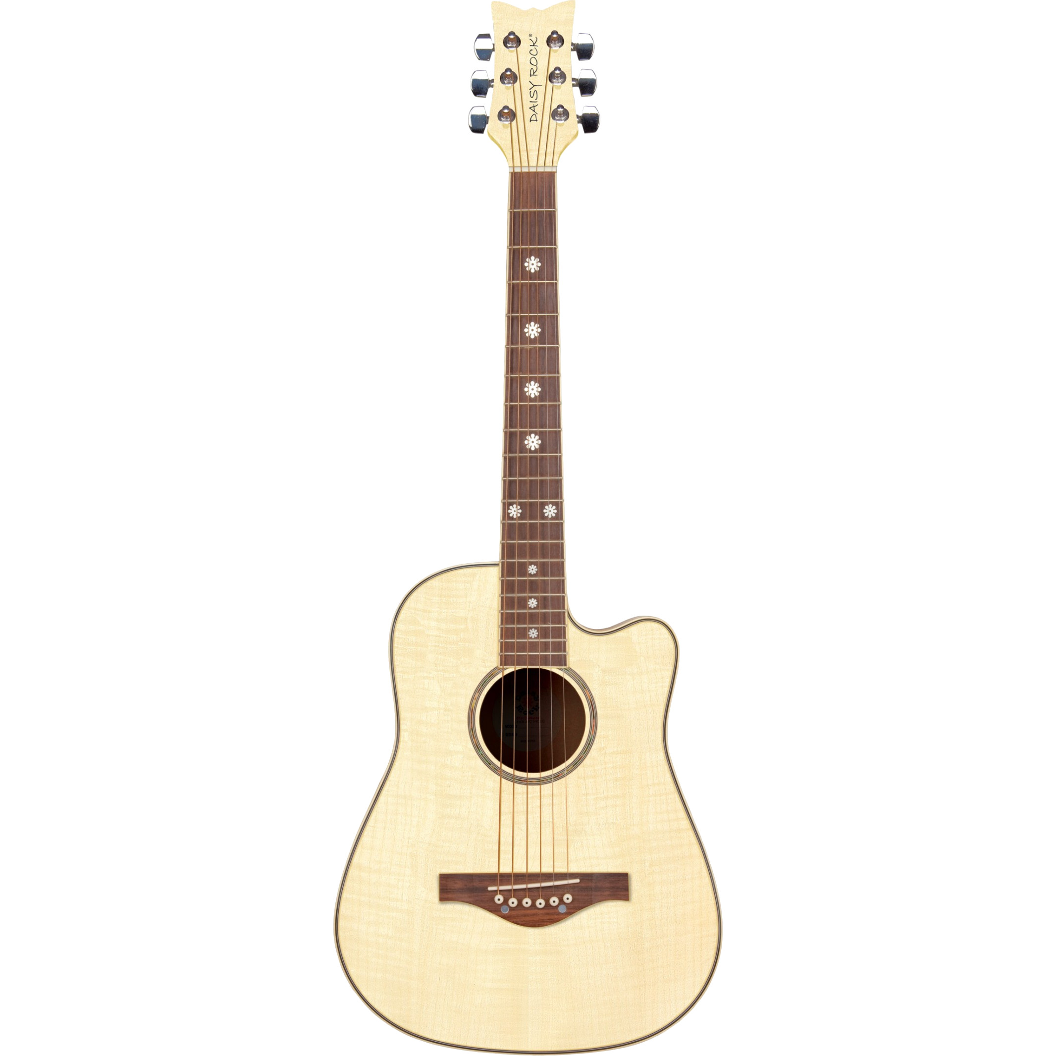 Daisy Rock Wildwood Acoustic 3 4 acoustic guitar, Beach Blonde
