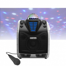 (B-Ware) iDance Party Speaker XD200 mobiles Soundsystem mit Lichtshow
