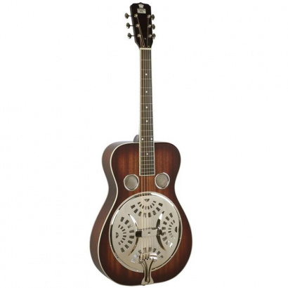 (B-Ware) Recording King RR-50-VS Roundneck Resonator Vintage Sunburst