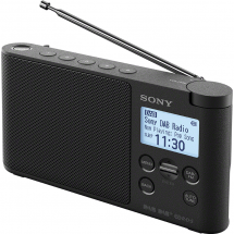Sony XDR-S41DB wireless digital radio (black)