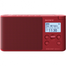 Sony XDR-S41DR wireless digital radio (red)