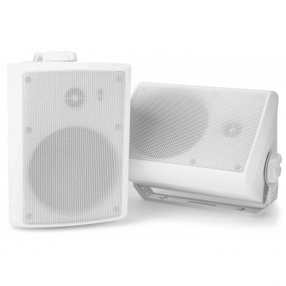 Power Dynamics WS40A speakers, set of 2, white