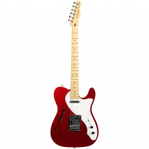 (B-Ware) Fender Fender Deluxe Thinline Telecaster, Candy Apple Red