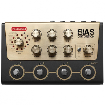 (B-Ware) Positive Grid BIAS Distortion Effektpedal